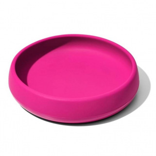 Assiette en silicone OXO Tot - NUANCE - Rose (Pink)
