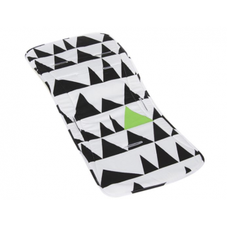 Limited - simply goods - coussin confort pour poussette geo love white/green