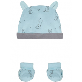 Limited - 3 pommes 18h -  bonnet chausson g welcome baby 9/12m