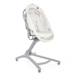 Chicco Baby Hug 4 in 1 Air (Berceau, transat & chaises) - NUANCE - Blanc Neige (White Snow)