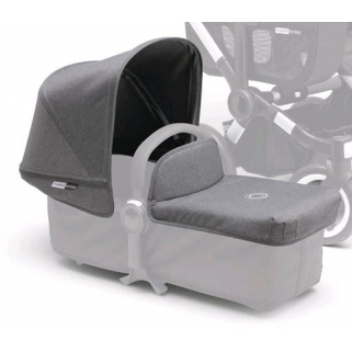 Limited - bugaboo - donkey new habillage compl gris chine (2)
