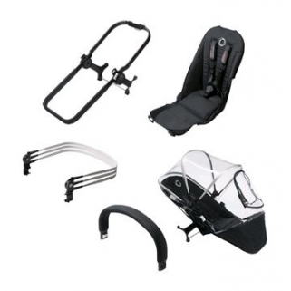 Limited - bugaboo - donkey+ ensemble extension duo noir/noir (3)