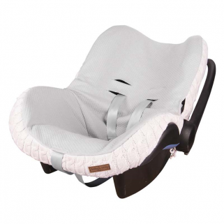 Housse maxi-cosi 0+ Baby's only cable - Rose très clair