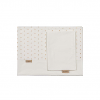 Drap Pericles pour lit (taie incluse) - ORIGINAL - Or (Gold Allover)