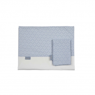 Drap Pericles pour lit (taie incluse) - Steel allover