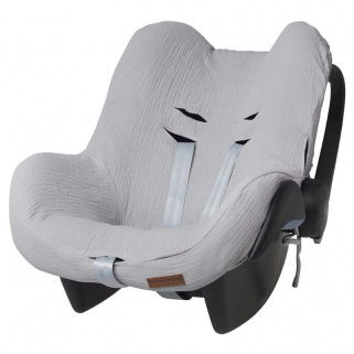 Housse Maxi-Cosi Baby's only pour siège auto groupe 0+ Breeze - Gris