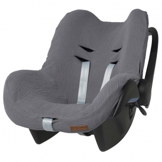 Housse Maxi-Cosi Baby's only pour siège auto groupe 0+ Breeze - Anthracite