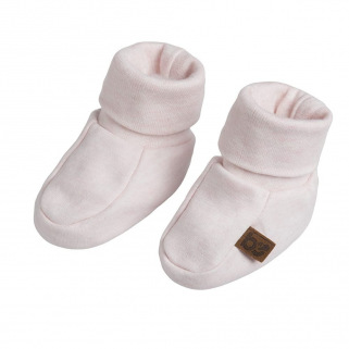 Baby's only - chaussons melange rose trÈs clair - 0-3 mois