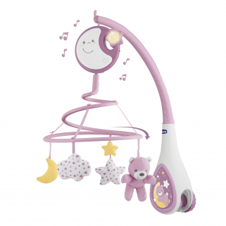Mobile Chicco Next2Dreams - NUANCE - Rose