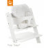 Limited - stokke - mini baby coussin tripp trapp pois couleurs douces