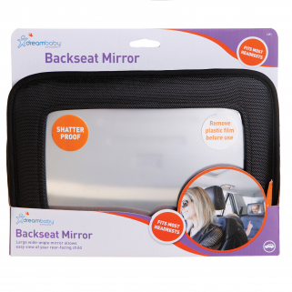 Dreambaby® - miroir pour voiture grand angle