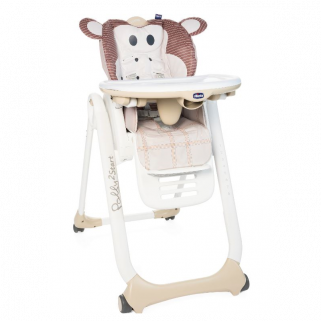 Chaise haute Chicco Polly2Start - Singe