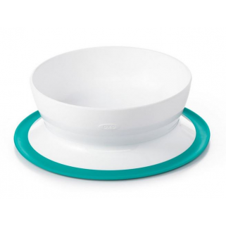 Bol OXO Tot Stick & Stay - NUANCE - Vert Sarcelle (Teal)