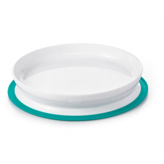 Assiette OXO Tot Stick & Stay - NUANCE - Vert Sarcelle (Teal)