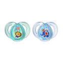 Tommee tippee- 2 sucettes 6-18m anytime