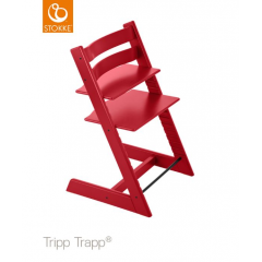 Stokke - chaise tripp trapp rouge