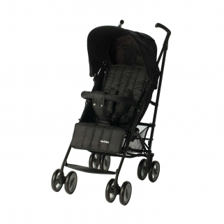 Pericles - poussette buggy multipositions black