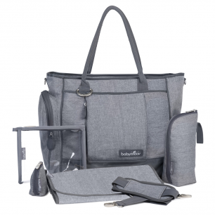 Babymoov - sac a langer essential bag smokey