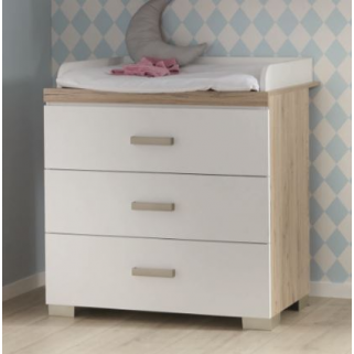 Transland - hilja commode 3 tiroirs + plan