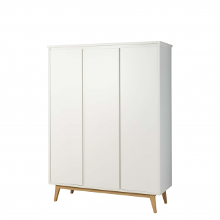 Pericles - pure blanc armoire 3 portes