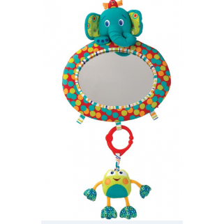 Bright starts - miroir see & play mirror elephant