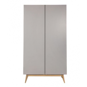 Quax - trendy griffin grey armoire 2 portes