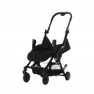 Pericles - buggy xs comfort plus black sans capote (new modele)