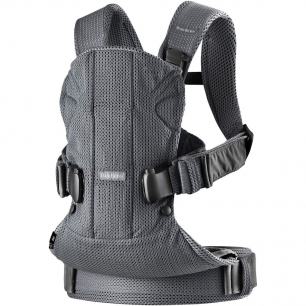 Babybjorn - porte-bebe one air anthracite mesh
