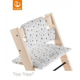 Stokke - coussin tripp trapp montagne blanche