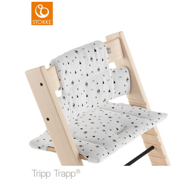 Stokke coussin tripp trapp montagne blanche