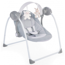 Chicco - balancelle relax and play cool grey recupel et bebat inclus