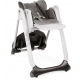 Chicco - chaise haute polly 2 start anthracite 4 roues
