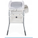 Chicco - cuddle & bubble meuble de bain comfort cool grey