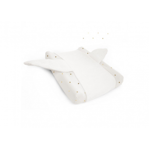 Childhome - jersey gold dots housse coussin a langer angel
