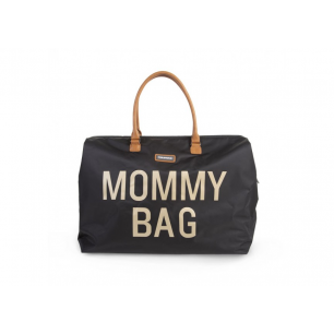 Childhome - mommy bag sac a langer black gold