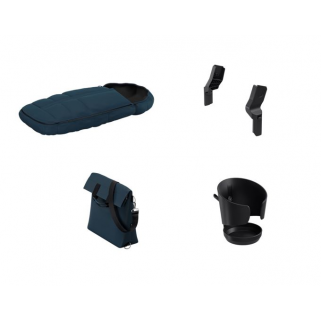 Thule - launch pack navy blue (chanceliere+sac+porte-gobelet+adapt gr0+)