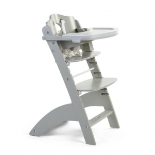 Childhome - chaise lambda 3 stone grey+tray cover