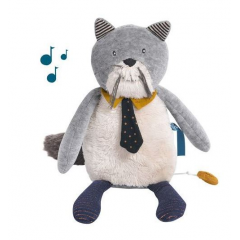 Moulin roty - les moustaches chat musical