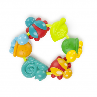Bright starts - buggie bites teether classic anneau de dentition (divers modèles