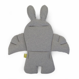 Childhome - coussin de chaise universel lapin jersey  gris