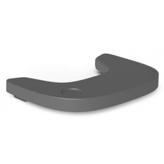 Childhome - evolu 2 tablette de chaise anthracite abs