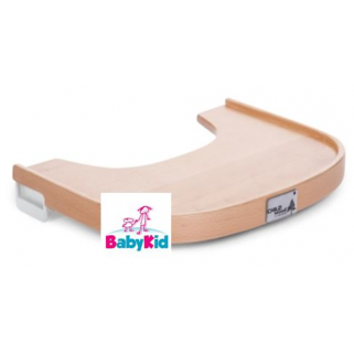 Childhome - evolu 2 tablette de chaise en bois naturel