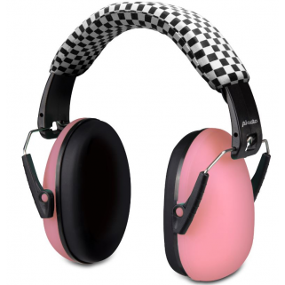 Alecto - casque protection auditive bv-71 roze +18mois
