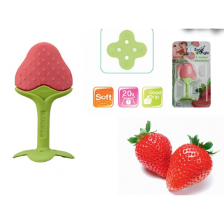Bo jungle – anneau de dentition fraise teether
