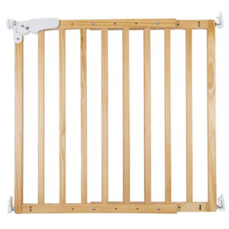 Childhome - maestro barriere de porte/escalier bois naturel(73,5-104cm)