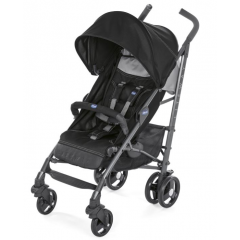 Chicco - buggy lite way 3 complete jet black