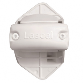 Lascal - banister kit for locking trim white kit de verrouillage kiddyguard