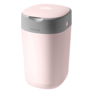 Poubelle Tommee tippee / sangenic twist & click - Rose