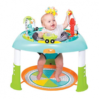 Infantino - go-gaga table d'activites sit - spin & stand entertainer