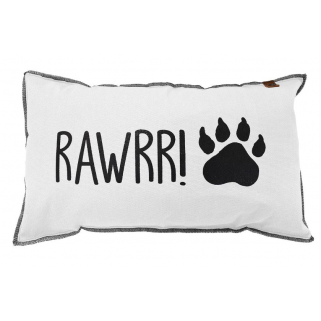 Pericles - coussin 30 x 50 rawrr wit